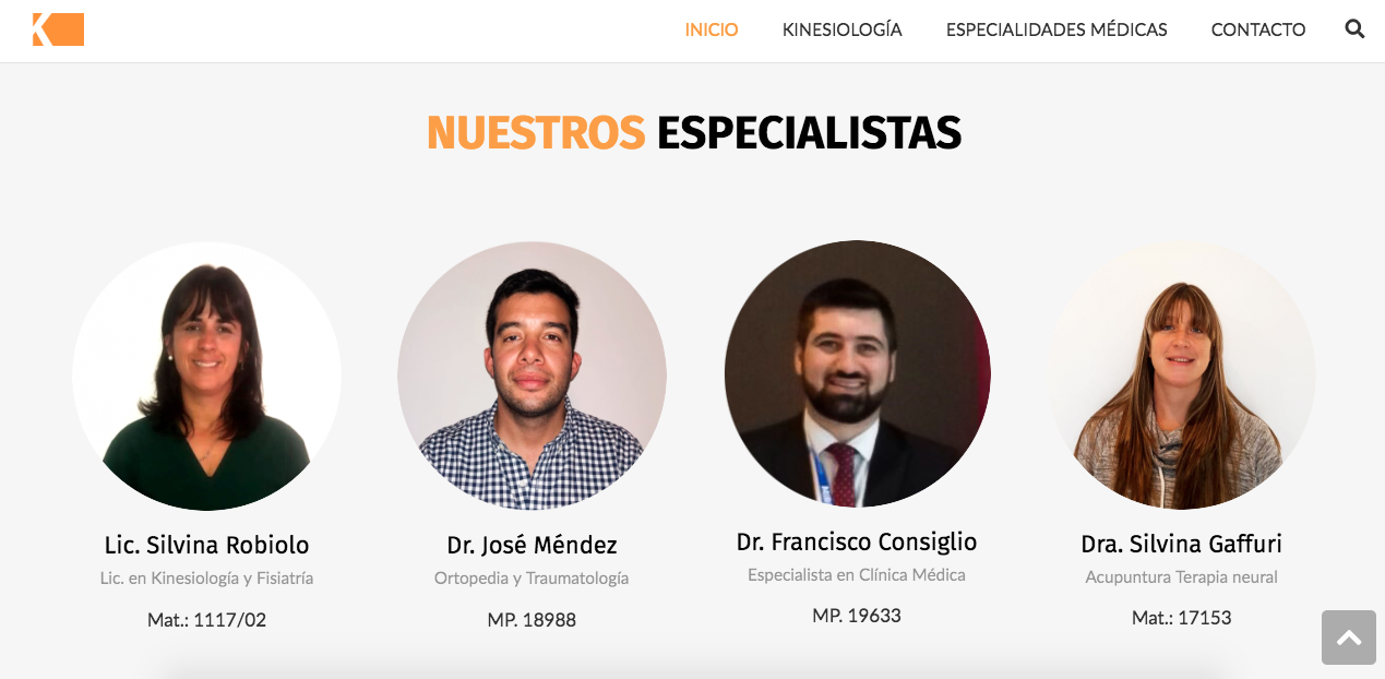 equipo kinesiologia integral