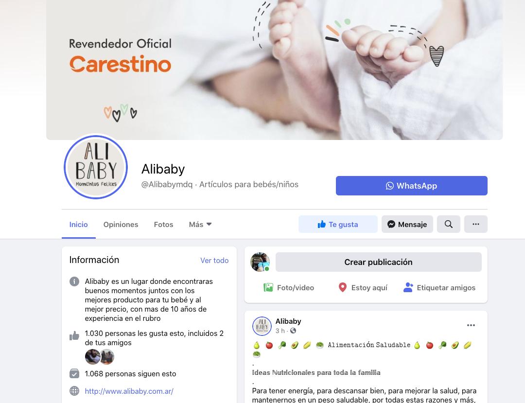 facebook alibaby
