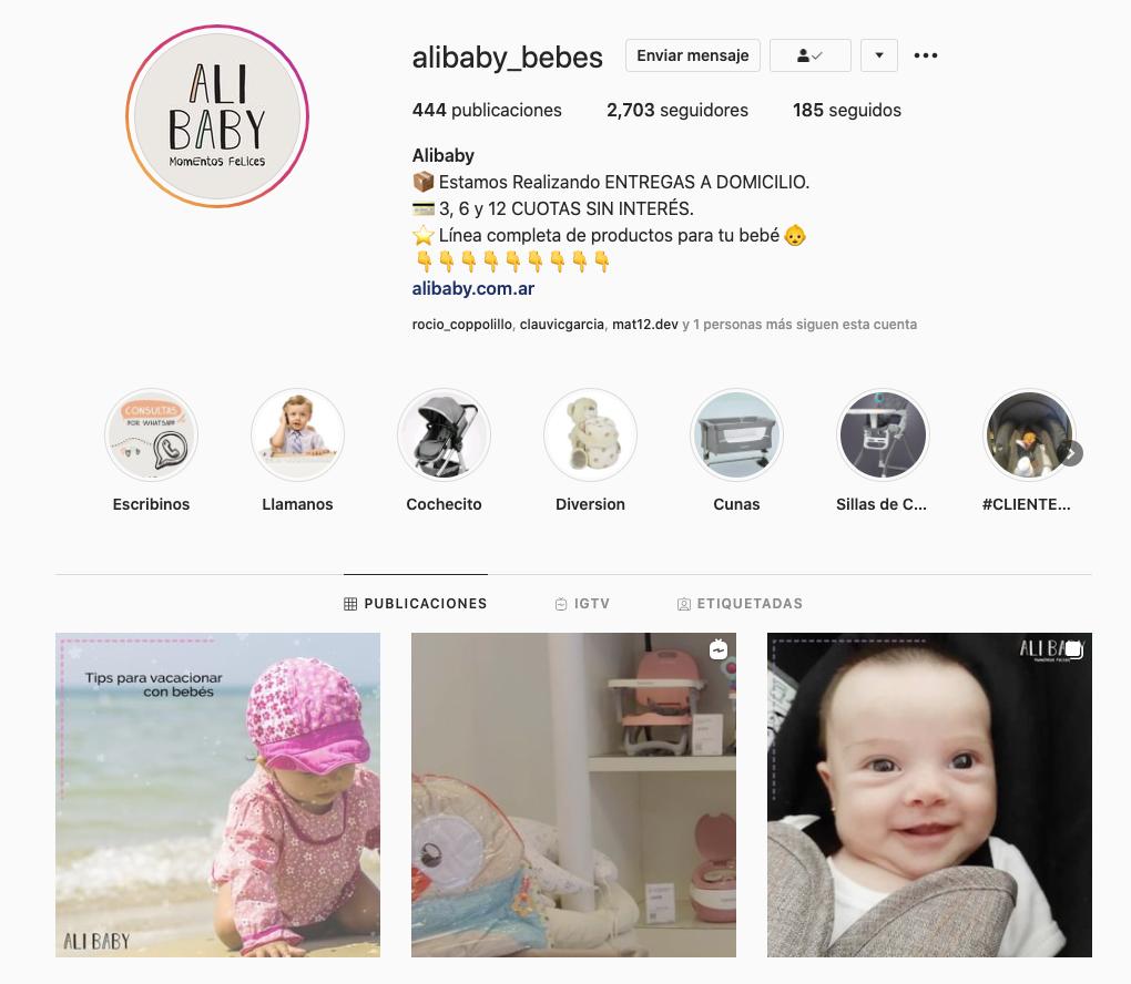 instagram alibaby